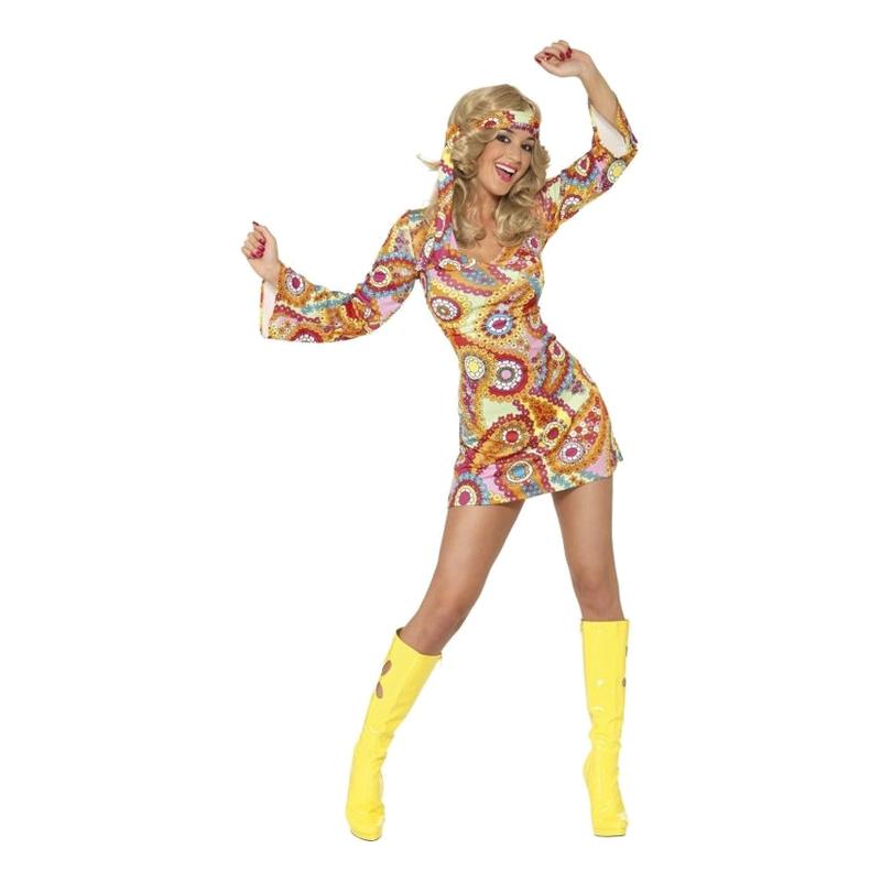 ce5a8587e6fd 60-talls Hippie Karnevalkostyme - Partyking.no