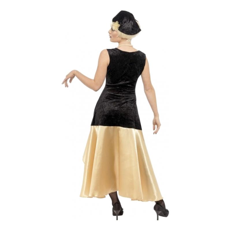 brand new 55739 4afeb Gatsby Girl se Maskeraddräkt 20 Partykungen tals B0gnw5
