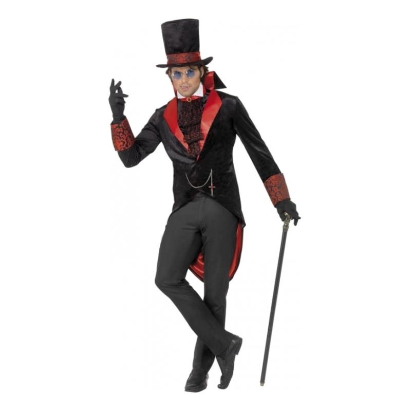 Dracula Halloween Maskeraddräkt - Partykungen.se 42d5134fb0c64