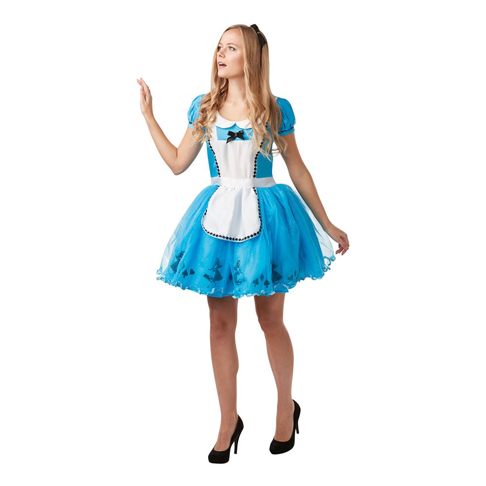 42df801bbf06 Alice i Eventyrland Kjole Kostume - Partyking. dk