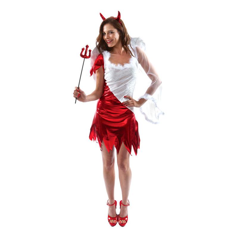 halloween kostym djävul