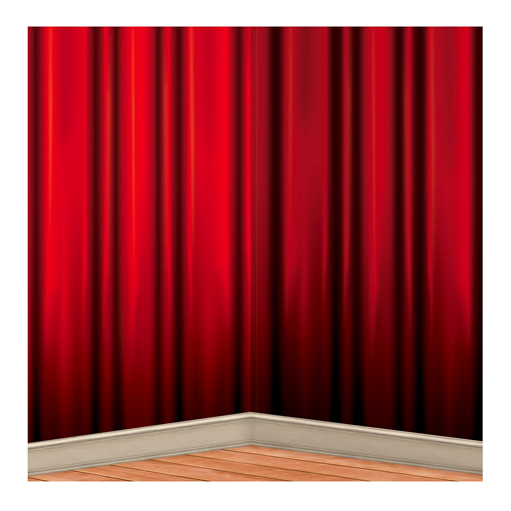røde gardiner Backdrop Røde Gardiner   Partyking. dk røde gardiner