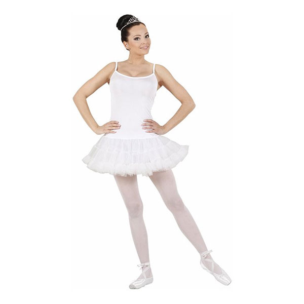 Ballerina Vit Maskeraddräkt - Partykungen.se 0dec39cd7fd41