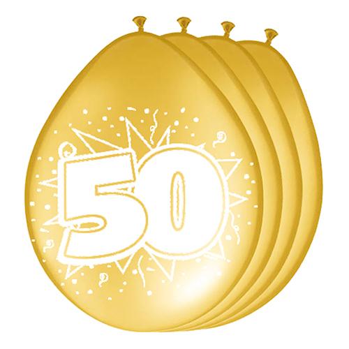Ballonger 50-års Jubileum Guld