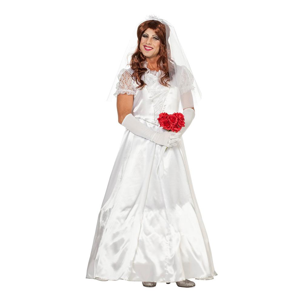 Bröllopsklänning Maskeraddräkt - Partykungen.se f083877c8dbfd