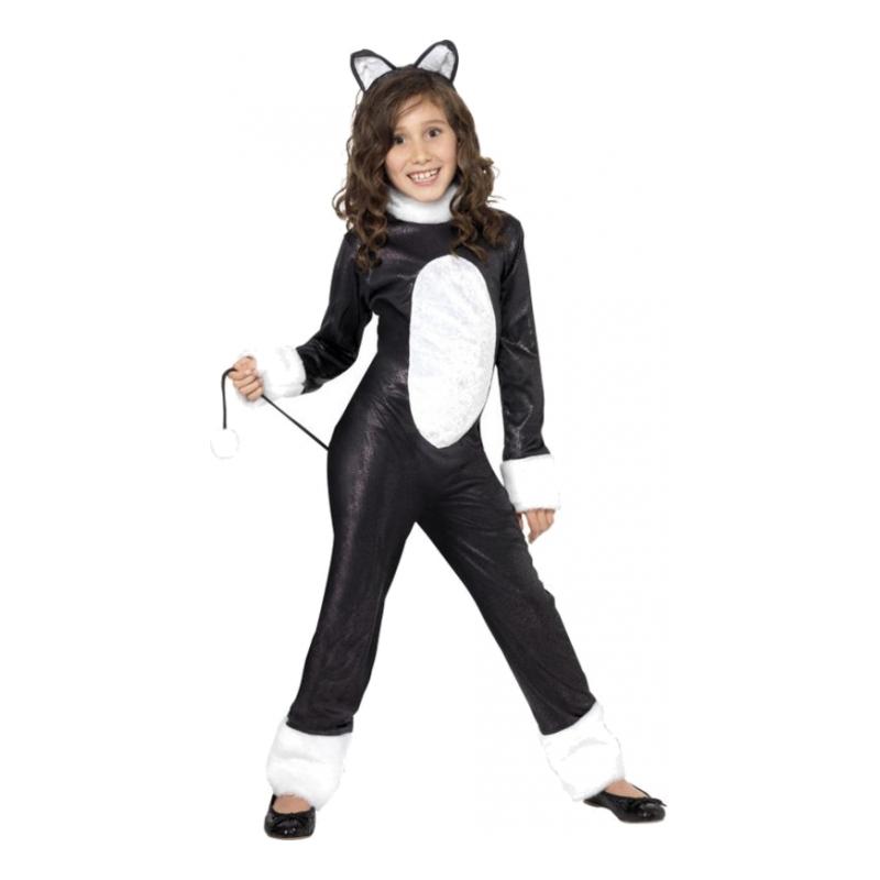 Cool Katt Barn Maskeraddräkt - Partykungen.se 982926486f823