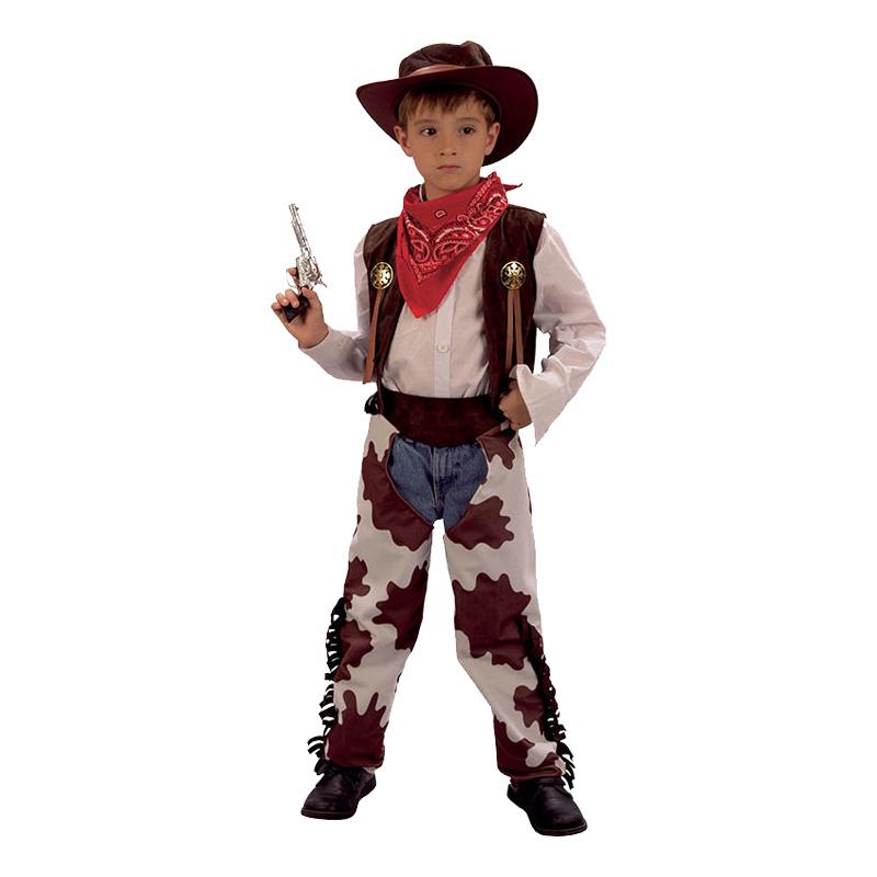 Cowboy Barn Maskeraddräkt - Partykungen.se bae488f436a53