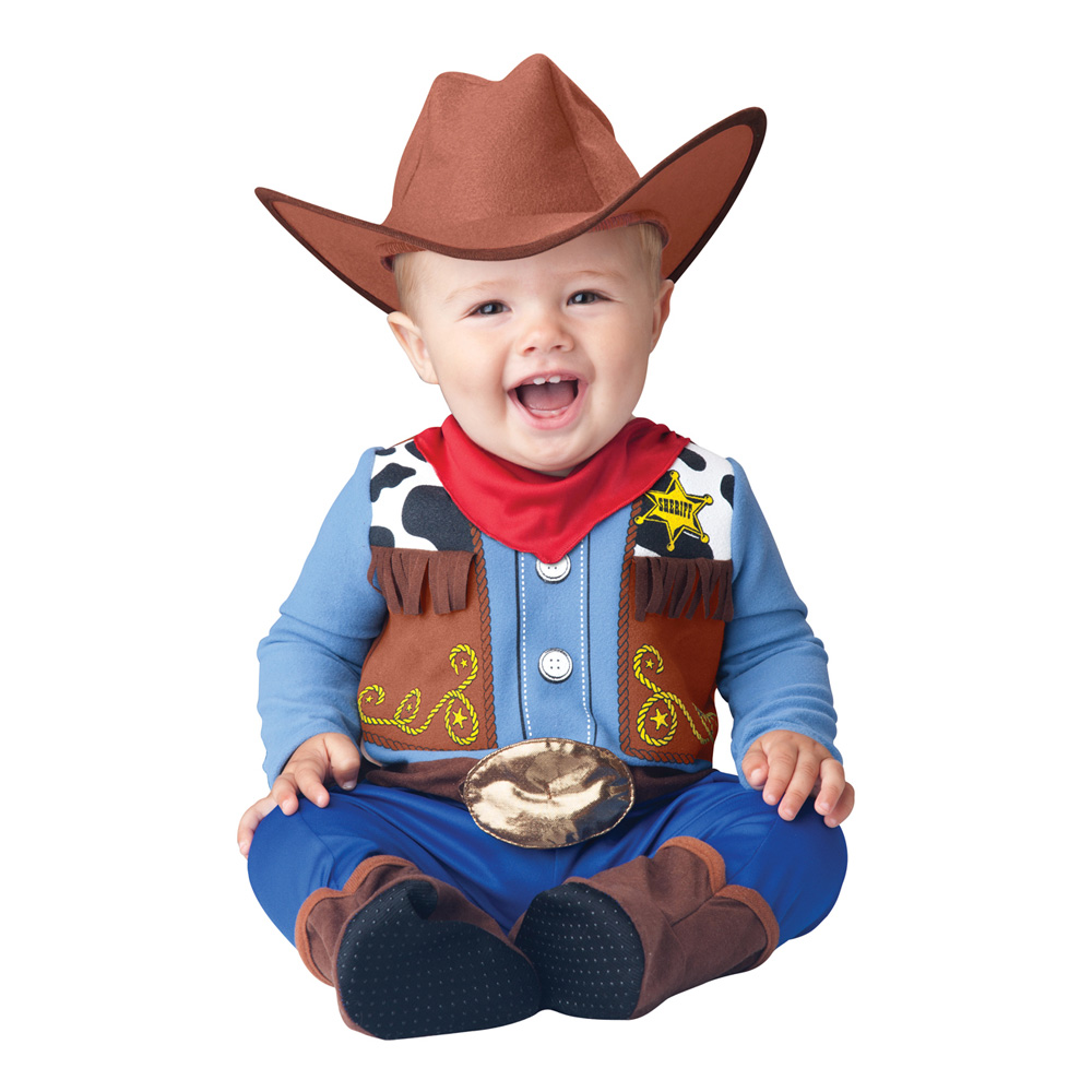 Cowboy Baby Kostume Partyking Dk