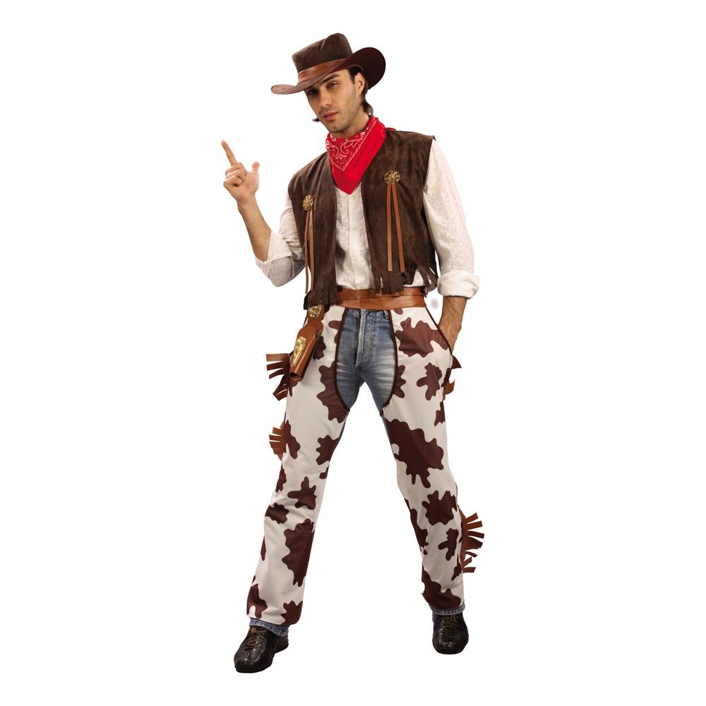 Cowboy Budget Maskeraddräkt - Partykungen.se 0ff52a1309dd9