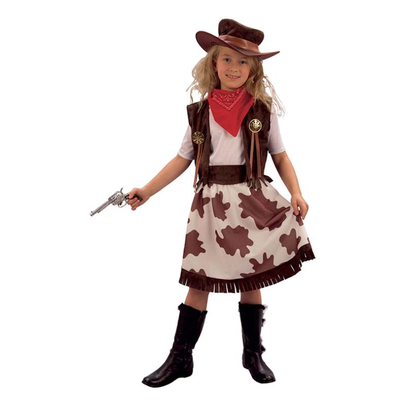 Cowgirl Barn Maskeraddräkt - Partykungen.se f4cc5841bd921
