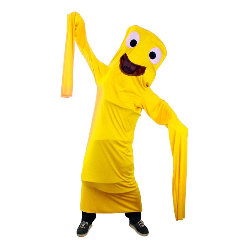 42e16d105348 Dancing Air Man Gult Kostume - Partyking. dk