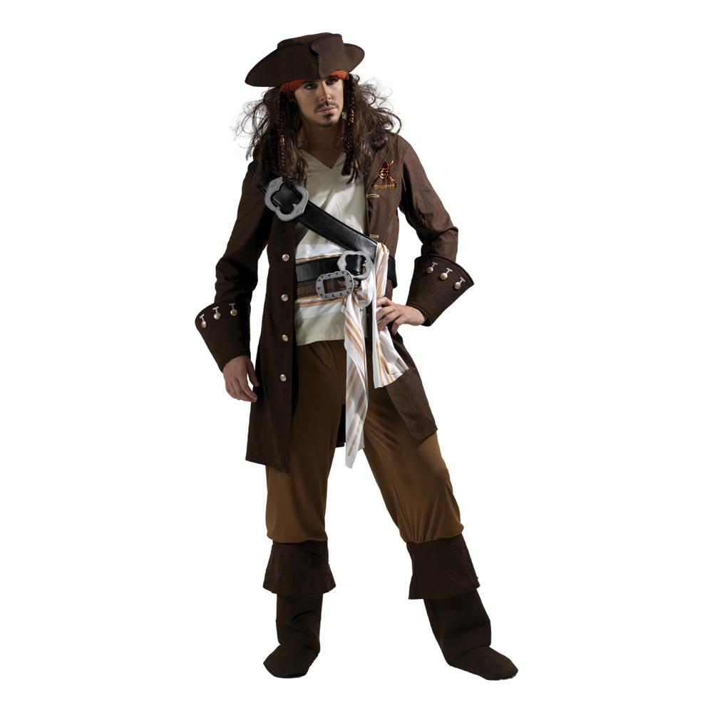 Disney Captain Jack Sparrow Maskeraddräkt - Partykungen.se 5d2bc901a9714
