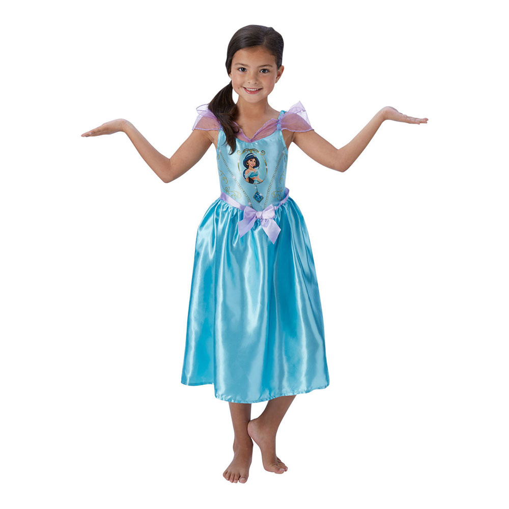 Disney Jasmine Sagobok Barn Maskeraddräkt - Partykungen.se 631399b19f154