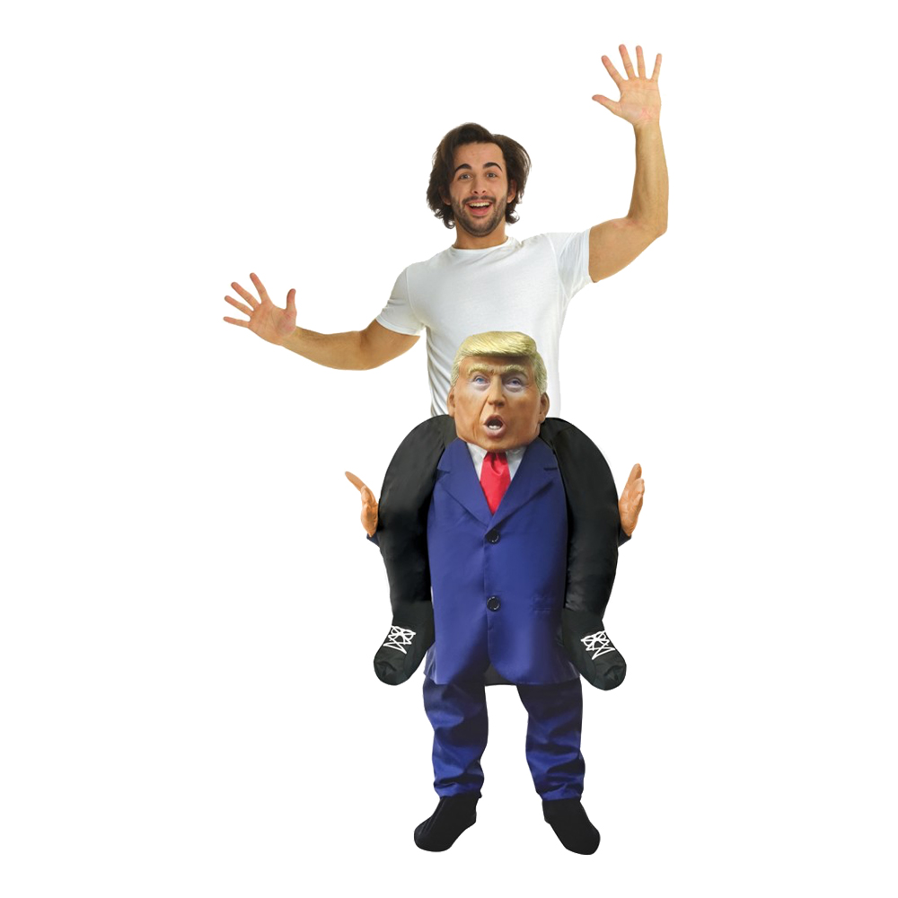 Donald Trump Piggyback Maskeraddräkt - Partykungen.se 9cea99d57f105