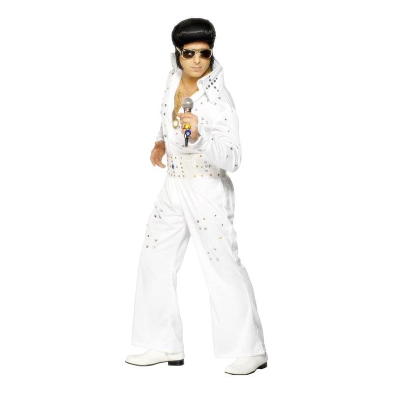 6769eeda2ff2 Elvis Las Vegas Maskeraddräkt - Partykungen.se