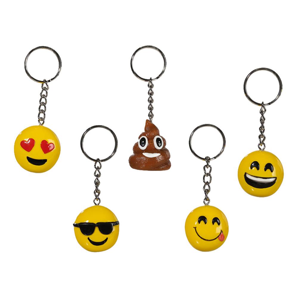 Emoji Nyckelring i Rostfritt - Partykungen.se c37b2c77a7327