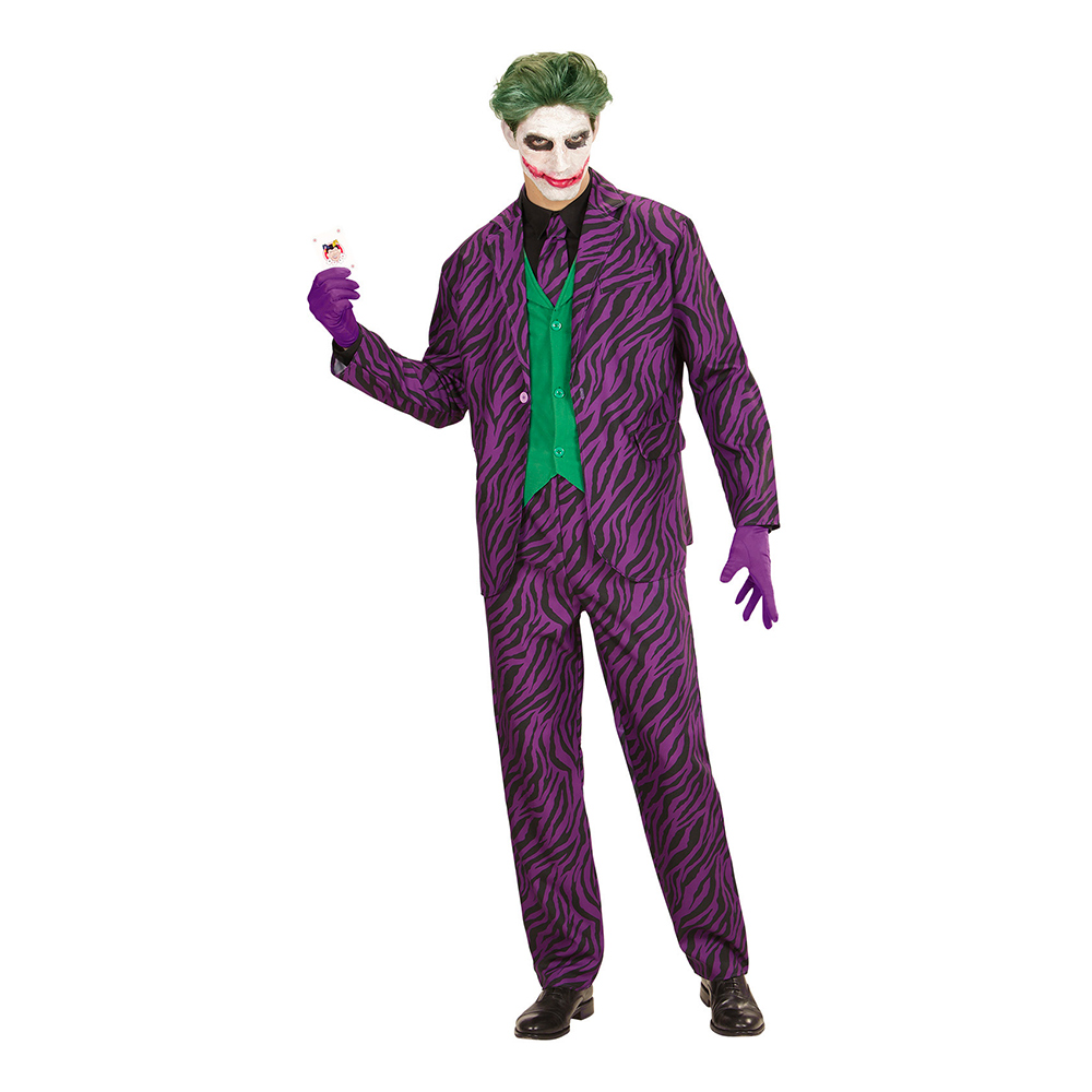 Evil Joker Maskeraddräkt - Partykungen.se e7421e5d087dc