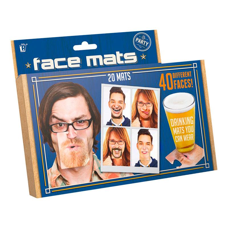Face Mats Drinkunderlägg