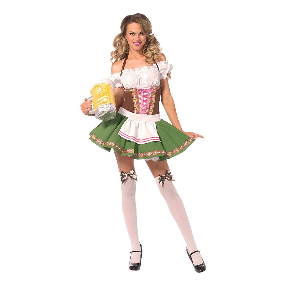 Klä dig rätt för Oktoberfest - Gretchen Deluxe Maskeraddräkt