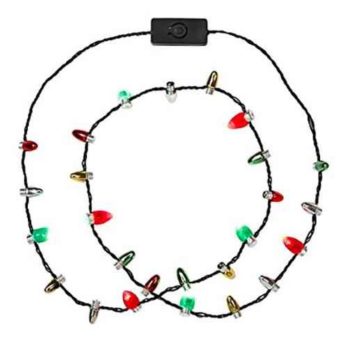 Halsband med Julgransbelysning - Partykungen.se 7d98b6723c000