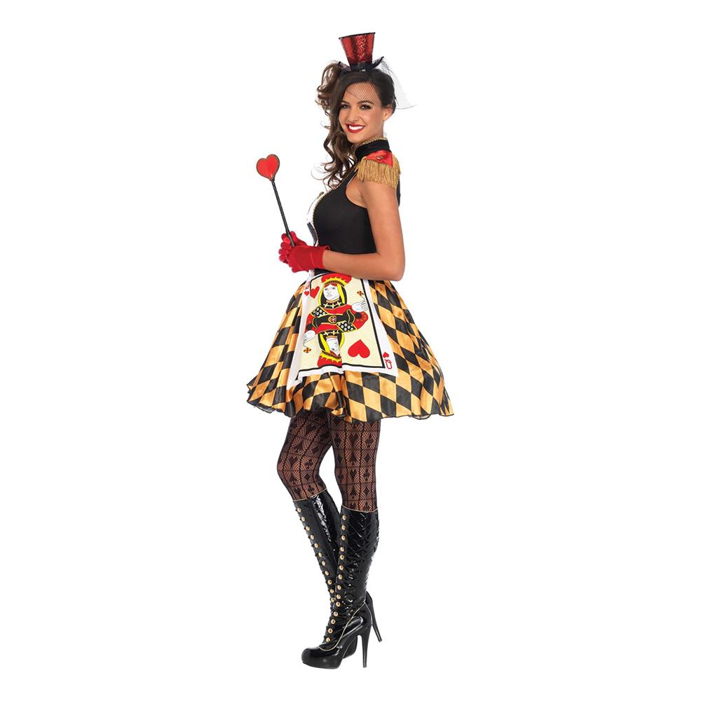 53665dc780a4 Hjerter Dame Kostume Deluxe - Partyking. dk