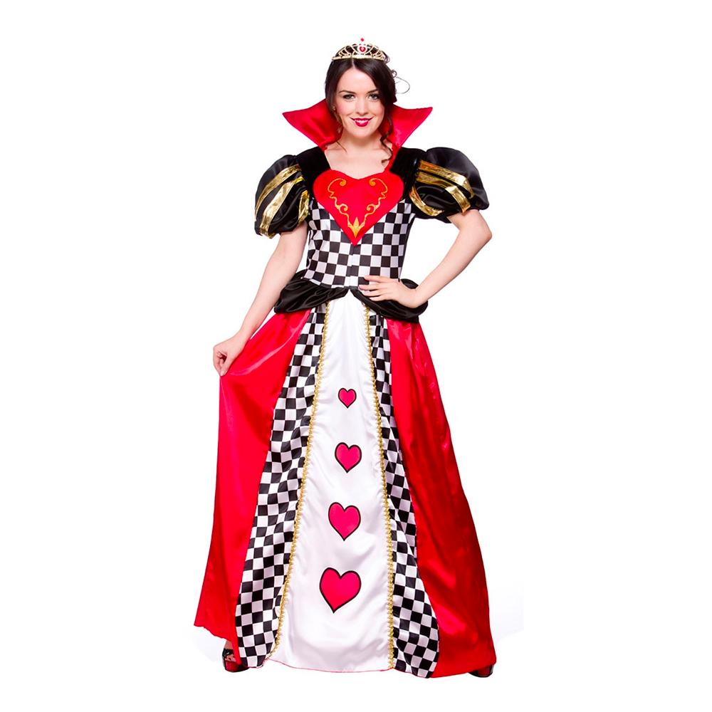 Kjole Dame Partyking Dk Kostume Hjerter HxAwfqf