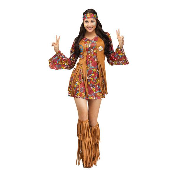 Indian Hippie Maskeraddräkt - Partykungen.se 8b020500880bb