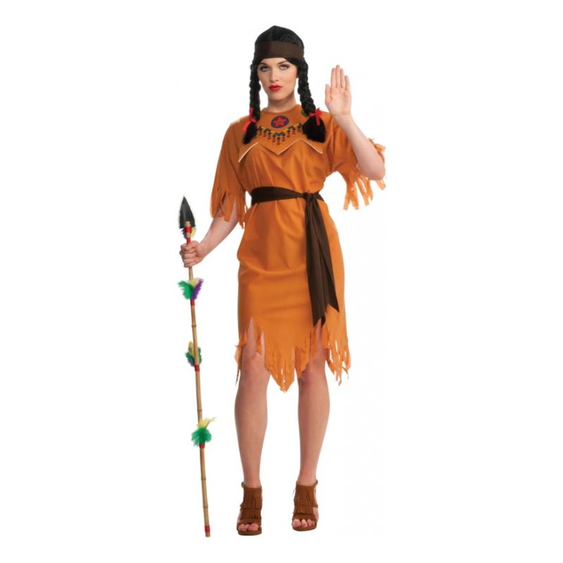Pocahontas Budget Maskeraddräkt - Partykungen.se 502c75d8c37d9