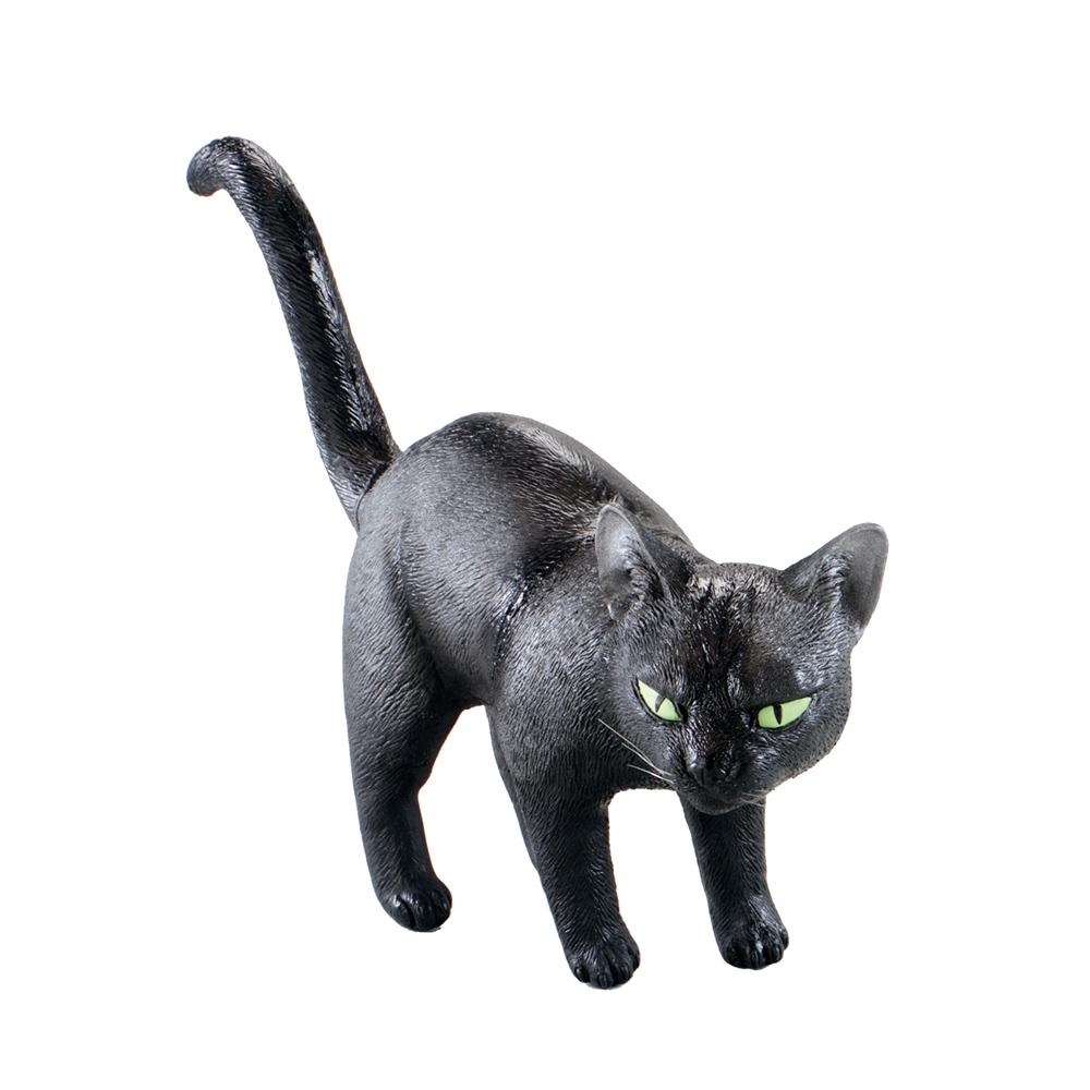 Svart Katt i Gummi - Partykungen.se 230b16a91cc38