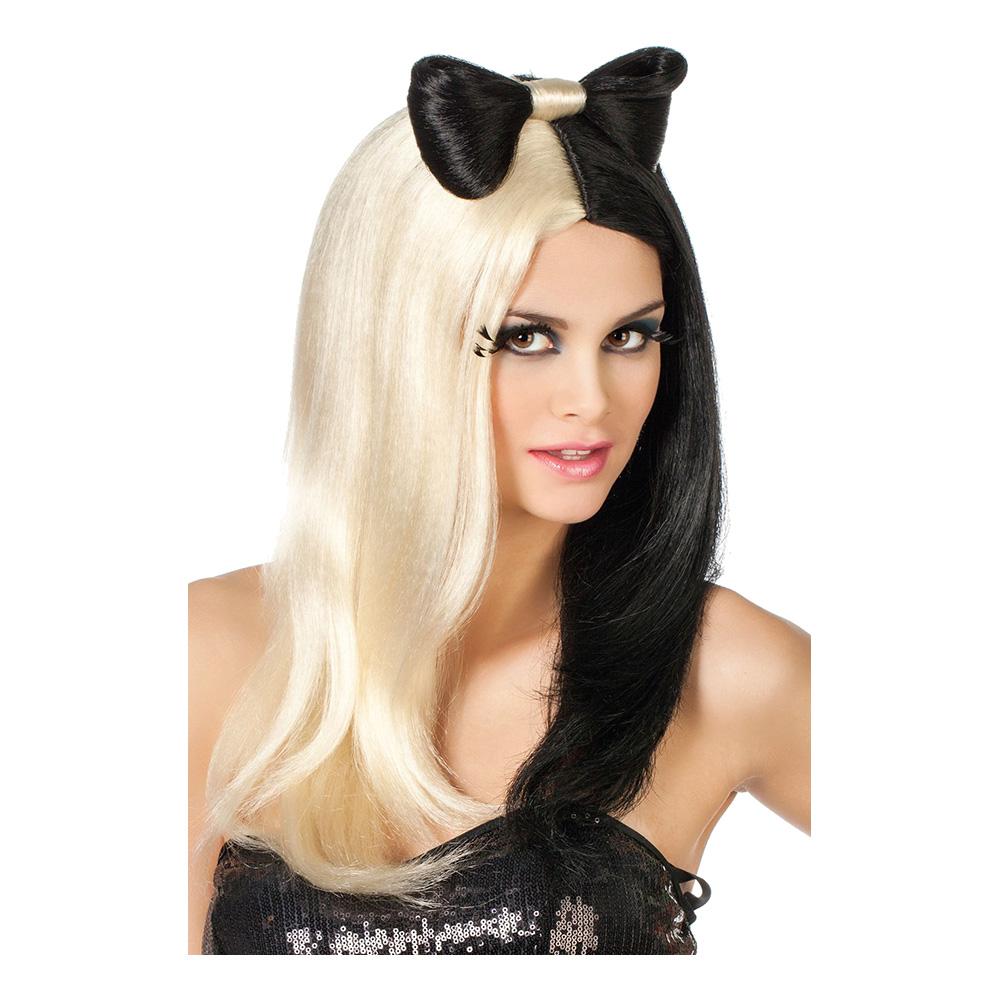 efe4eefa4068 Lady Gaga Svart/Blond Peruk - Partykungen.se