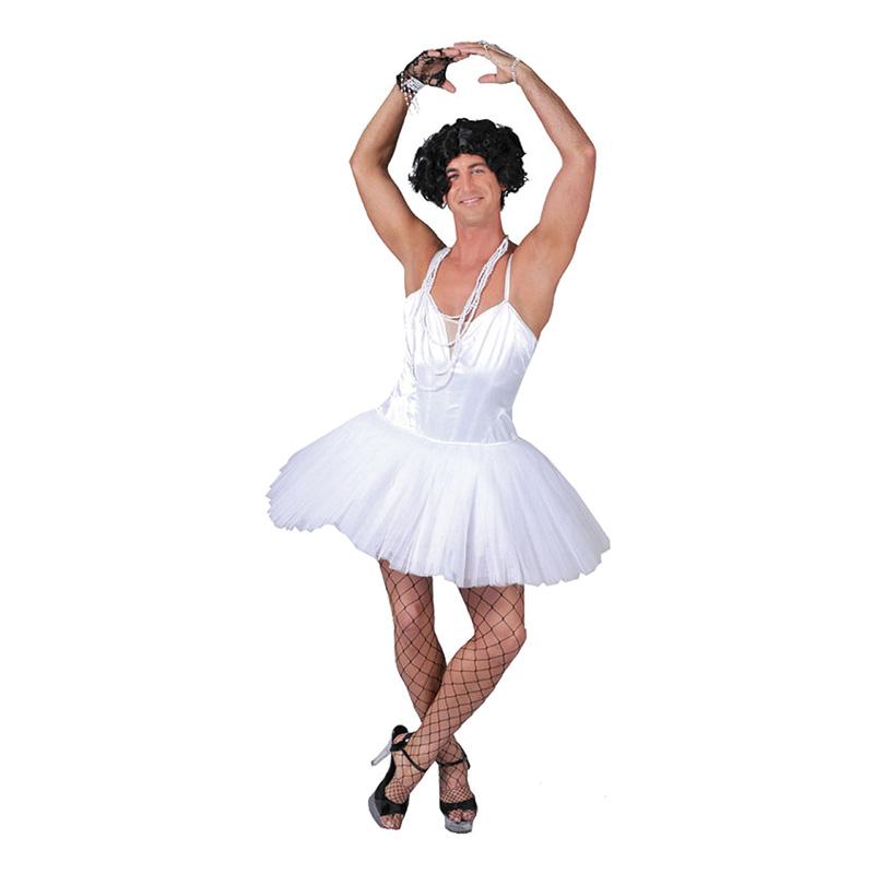 Manlig Ballerina Maskeraddräkt - Partykungen.se 2c1f0b7512b45