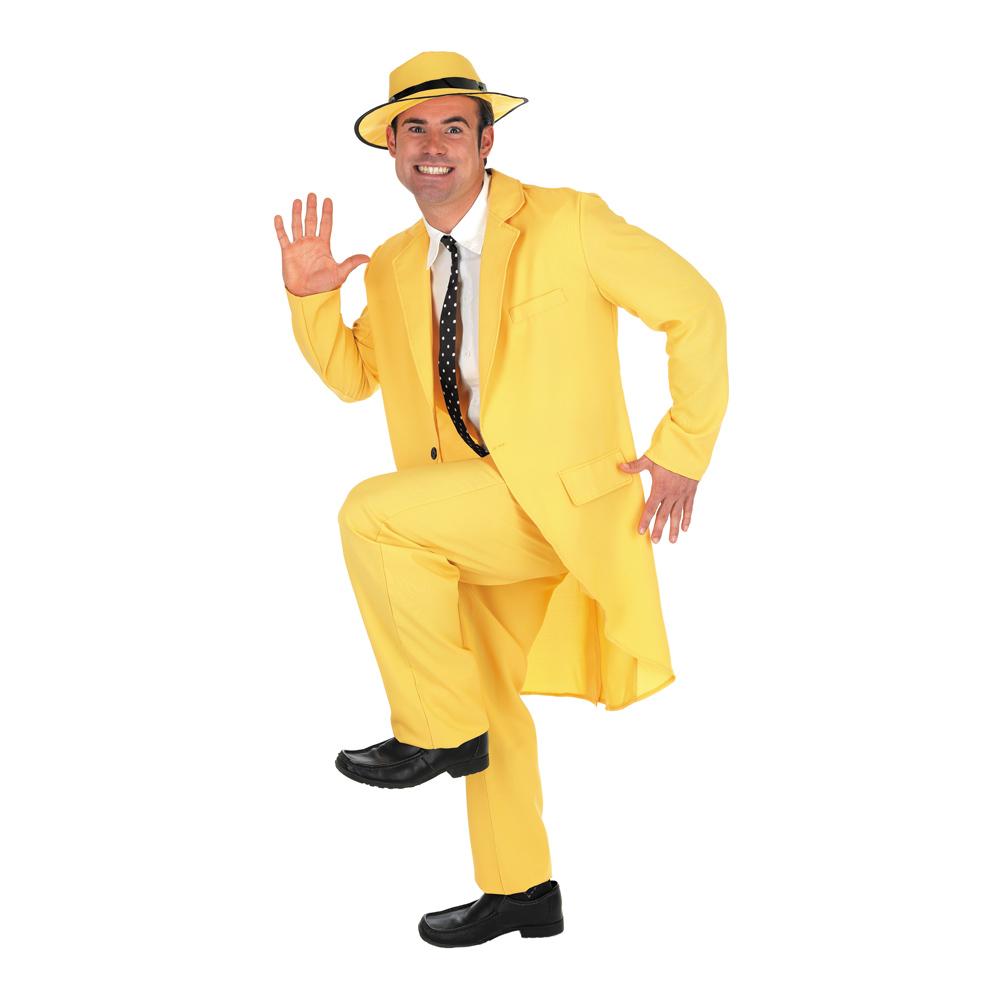 Mannen med den Gula Hatten Maskeraddräkt - Partykungen.se 6b057f81a9648