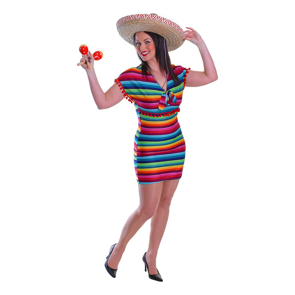 362c1dff22c9 Mexicansk Kjole Kostume - Partyking. dk