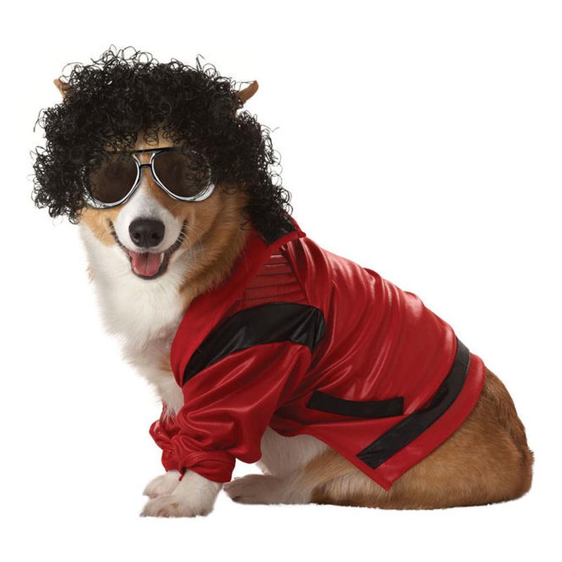 Michael Jackson Hund Maskeraddräkt - Partykungen.se 79087e71b1f1d