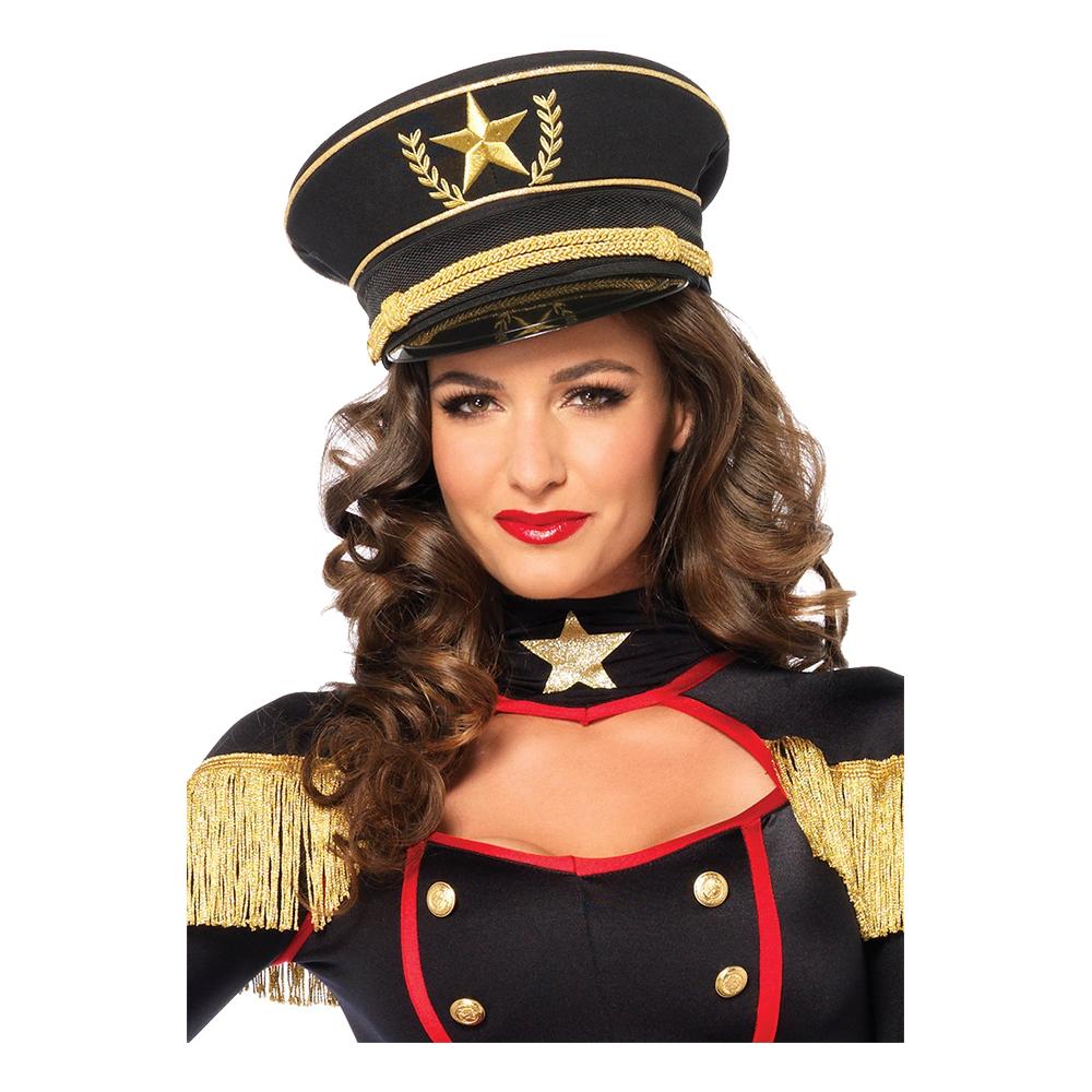 Militär Hatt Deluxe - Partykungen.se f648771c4145a