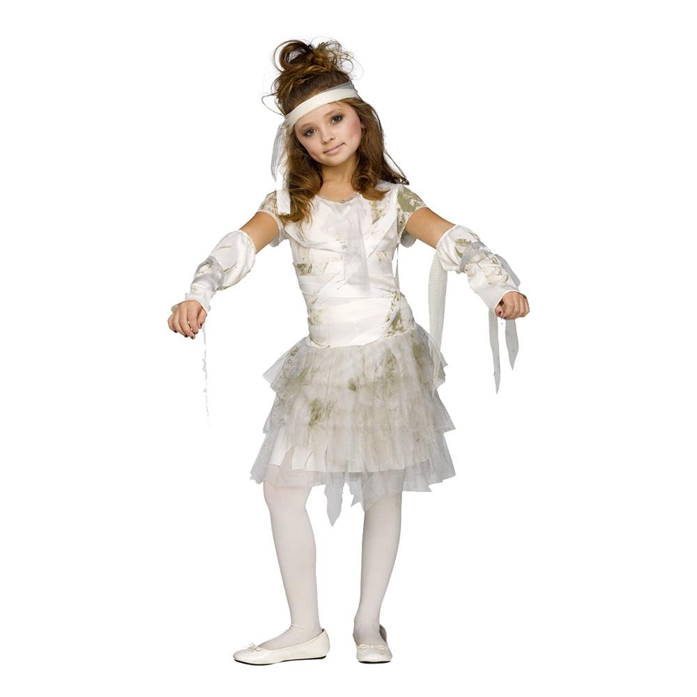 Mumieklänning Barn Maskeraddräkt - Partykungen.se 97850f46eaf25