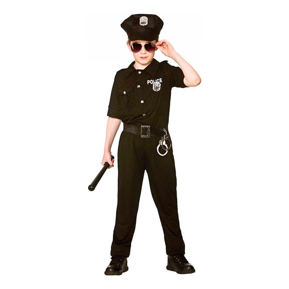 New York Polis Barn Maskeraddräkt - Partykungen.se ab6a7dae29b7b