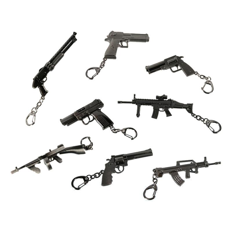 Nøglering med våben - Partyking. dk