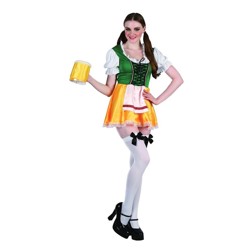 Klä dig rätt för Oktoberfest - Oktoberfest Dam Budget Maskeraddräkt