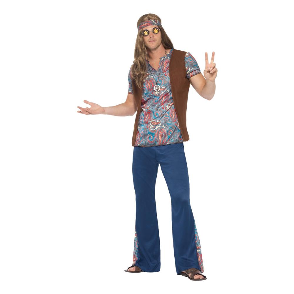 20151bd1e719 Orion Hippie Maskeraddräkt - Partykungen.se