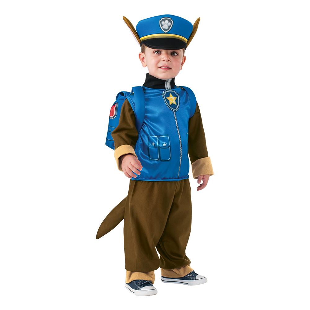 Paw Patrol Chase Barn Deluxe Maskeraddräkt - Partykungen.se 9f1bcbfa552db