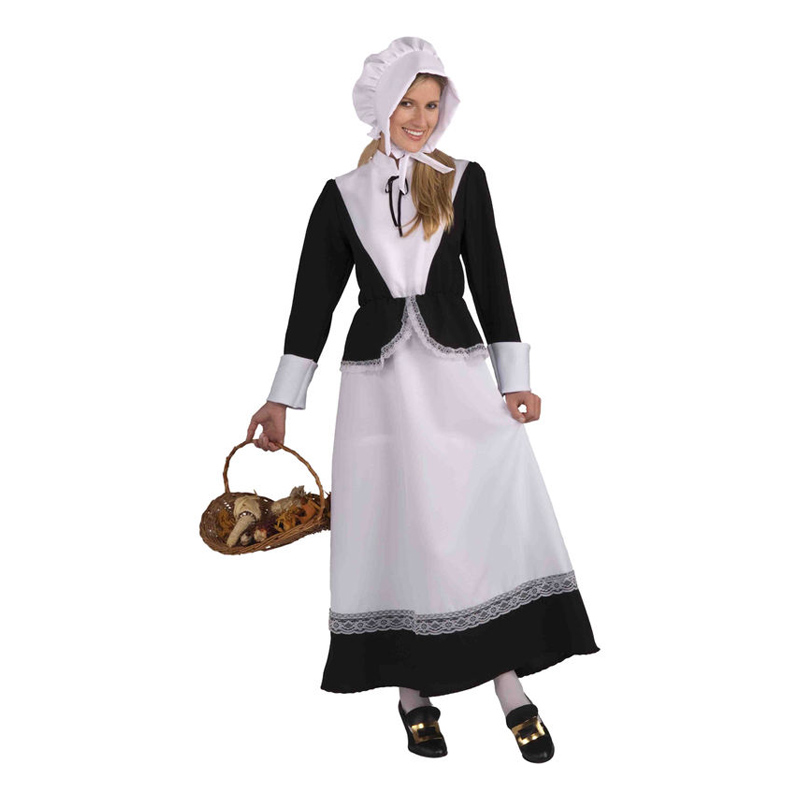 8c1b869a1fc Pilgrim Dame Kostume - Partyking. dk