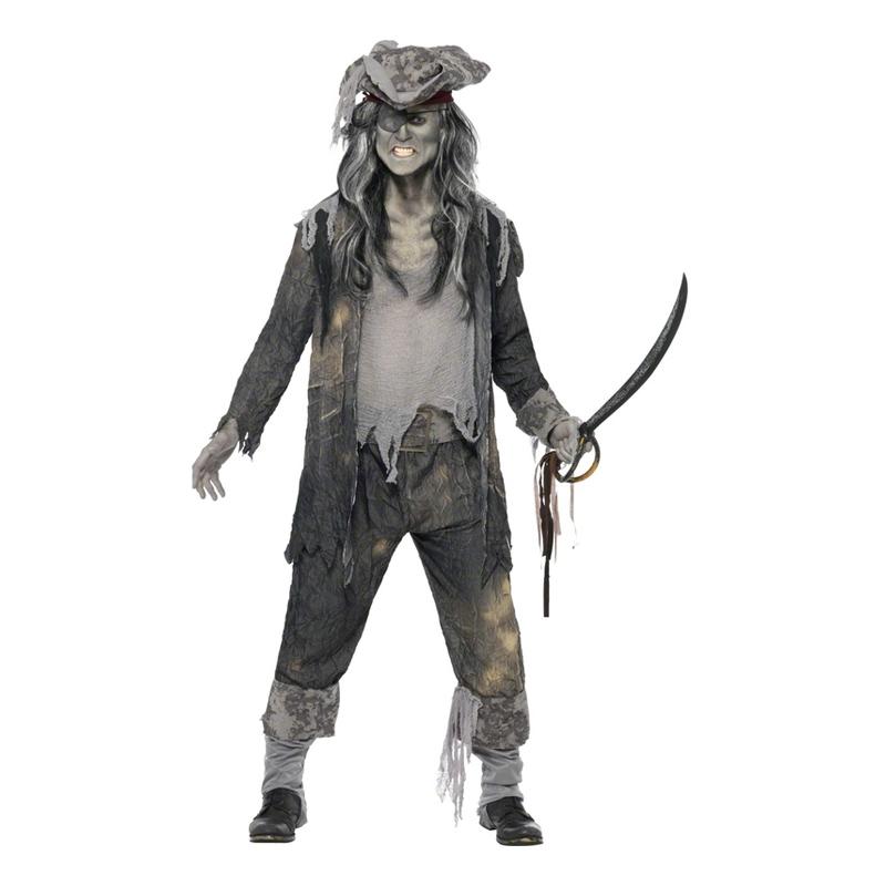 Pirat Halloween Maskeraddräkt - Partykungen.se 147b458cf78ae