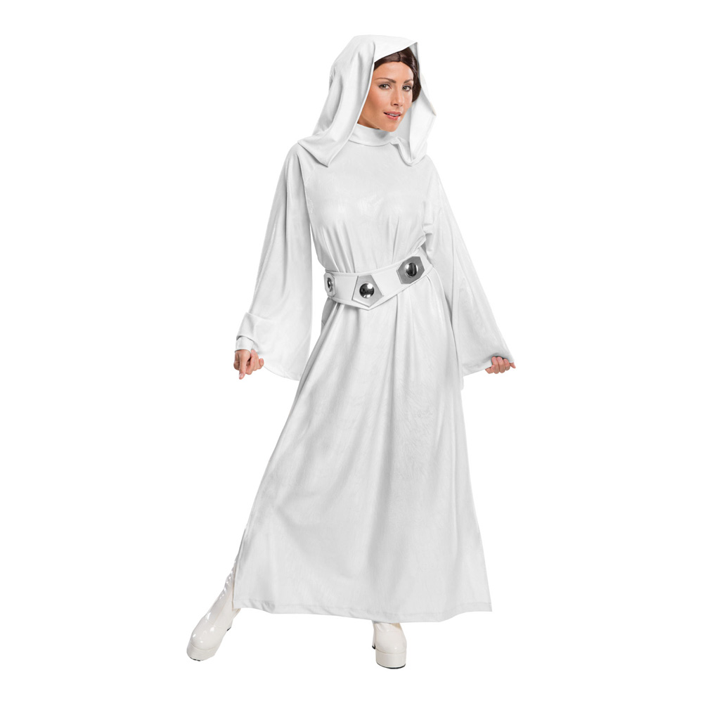 Prinsessan Leia Deluxe Maskeraddräkt - Partykungen.se 416160c9aa92f