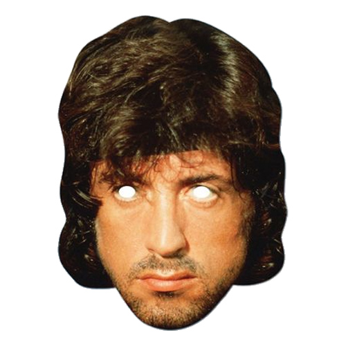 Rambo Pappmask - Partykungen.se b5fd82d321652