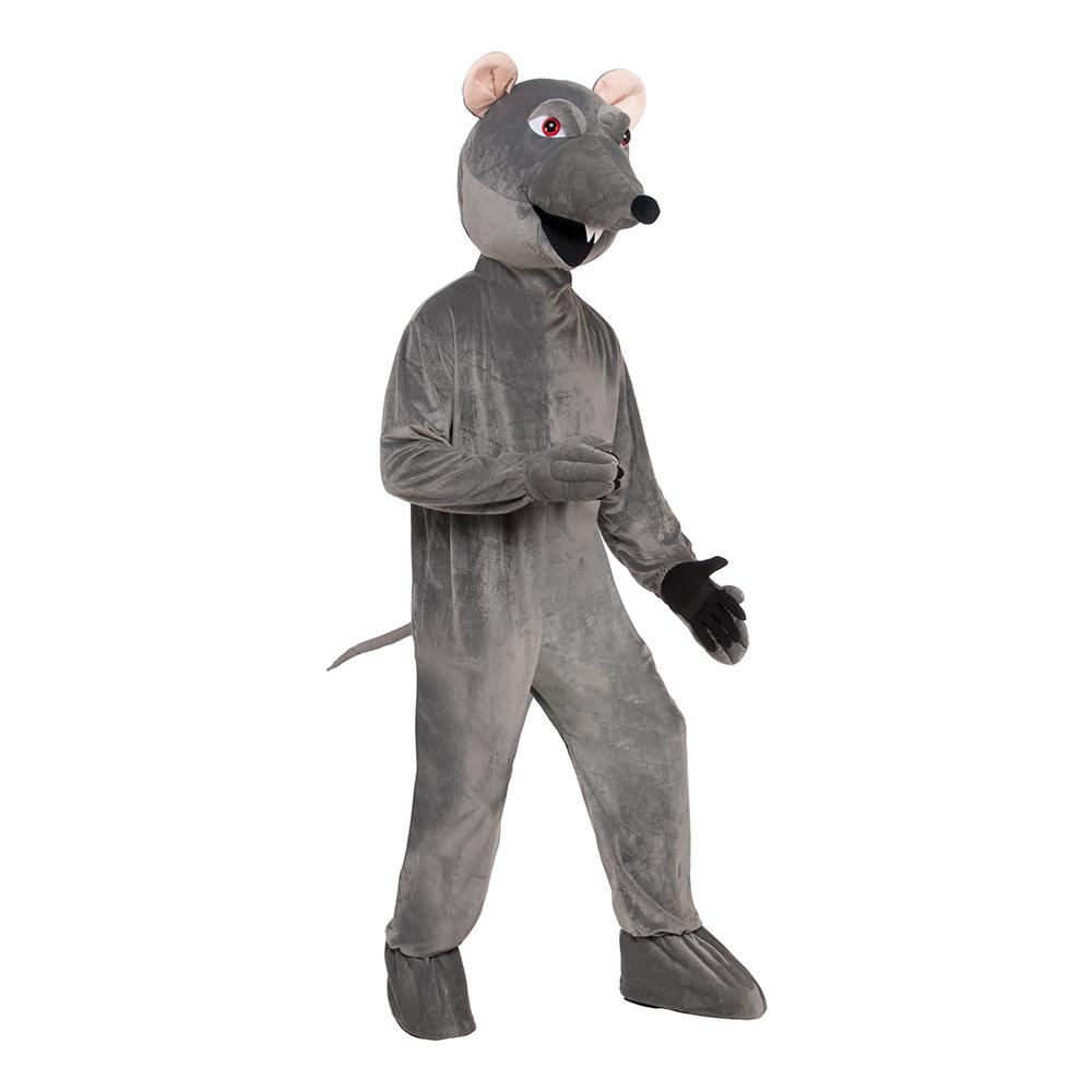 Råtta med Stort Huvud Maskeraddräkt - Partykungen.se 31385493638e8