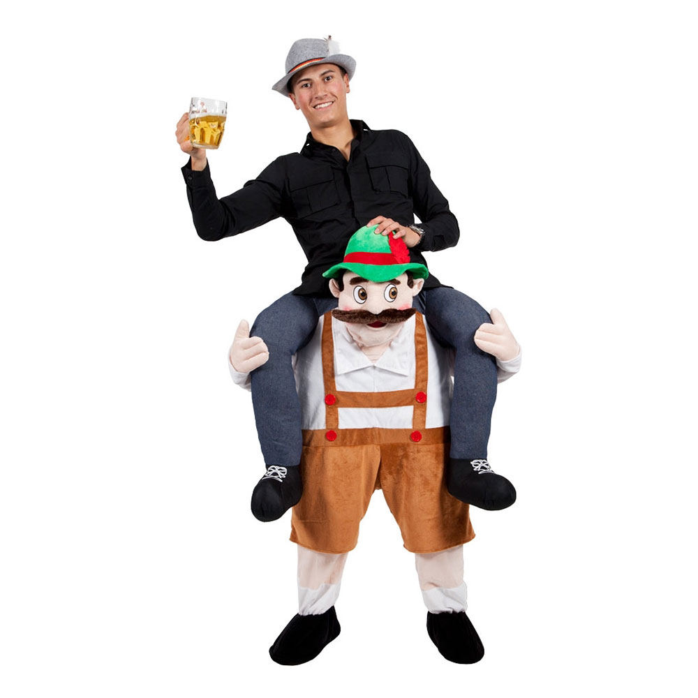 Klä dig rätt för Oktoberfest - Carry Me Bavarian Maskeraddräkt