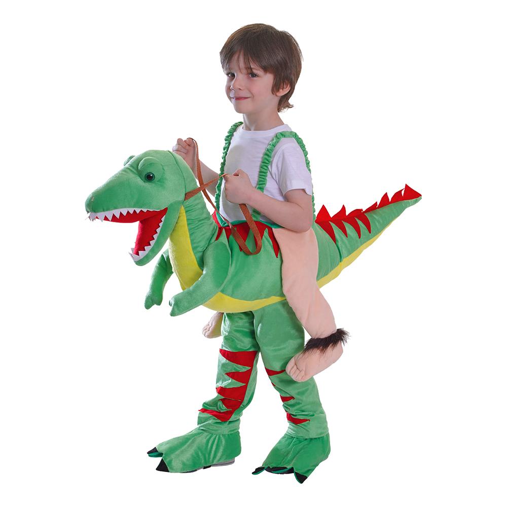 Ridende Dinosaurer Børn Kostume Partyking Dk
