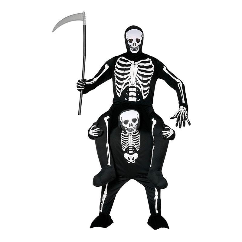 Ridande Skelett Maskeraddräkt - Partykungen.se e07868a56a437
