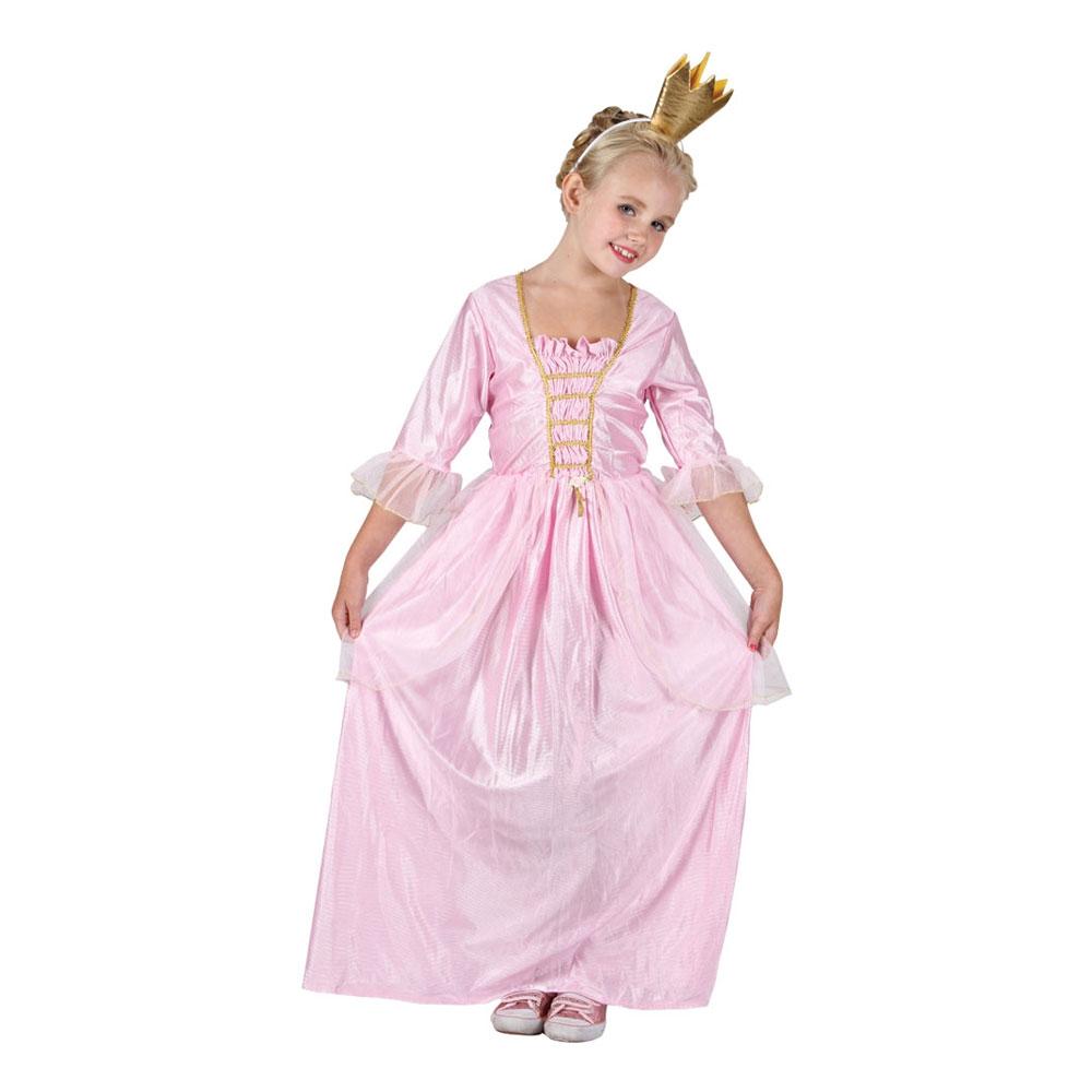 b7836ae01f7d Rosa Prinsessa Barn Maskeraddräkt - Partykungen.se